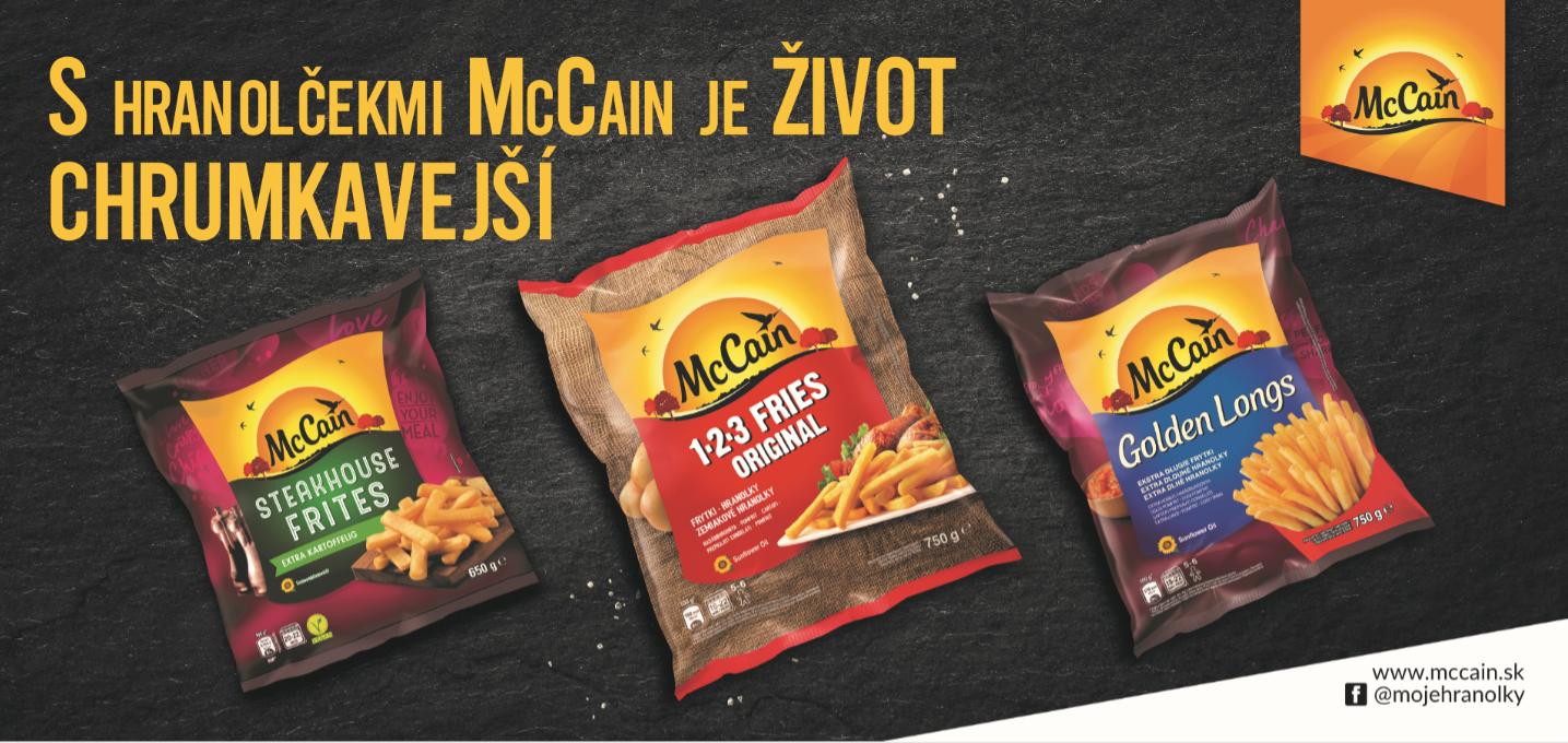 McCain billboard Slowacja Spire