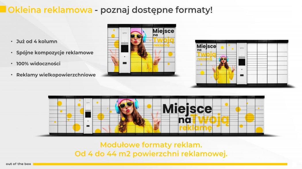 Paczkomaty formaty reklam
