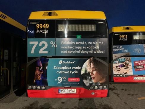 Reklama na autobusach Busback